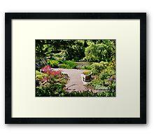 Ness Gardens Framed Print