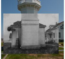 Looking into the Past: 1920s-2010: Mukliteo Lighthouse by Jim Adams