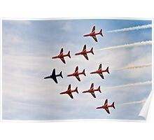 Red Arrows # 7 Poster