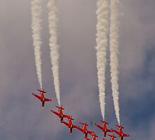 Red Arrows # 8 by Dale Rockell