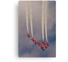 Red Arrows # 8 Canvas Print