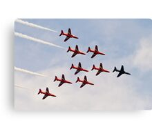 Red Arrows # 9 Canvas Print