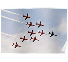 Red Arrows # 9 Poster