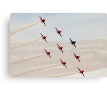 Red Arrows # 10 Canvas Print