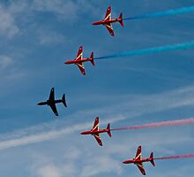 Red Arrows # 13 by Dale Rockell