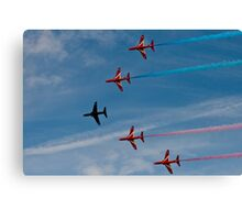 Red Arrows # 13 Canvas Print