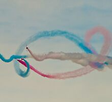 Red Arrows # 14 by Dale Rockell