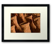 Ancient Roman Amphora Framed Print