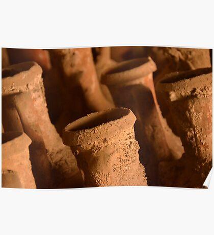 Ancient Roman Amphora Poster