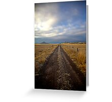 Rural Oregon Greeting Card