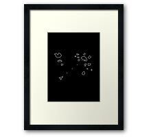 Asteroids Arcade Game Framed Print