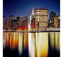 Romantic NYC Night Photographic Print