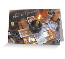 Harvest Blessing  Greeting Card