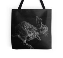 Young White-tailed Jack Rabbit Tote Bag