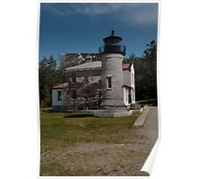 Looking into the Past: 1902-2010: Admiralty Head Lighthouse Poster