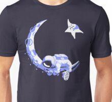 Moonstuck - Alternate Universe on Dark Blue Unisex T-Shirt