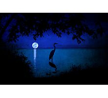 Moonlight on the Water Photographic Print