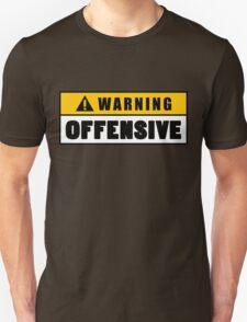 Warning Offensive Lockout T-Shirt