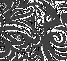 psychedelic zebra  by Rachelgold