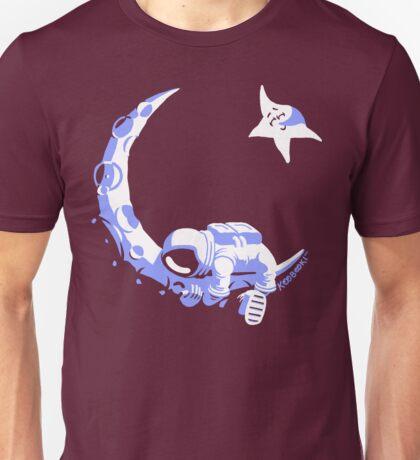 Moonstuck - Alternate Universe on Dark Red Unisex T-Shirt