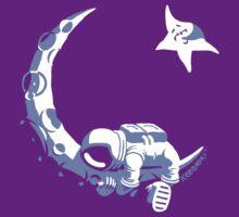 Moonstuck - Alternate Universe on Purple T-Shirt