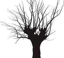 Acacia, tree pruning by gepard
