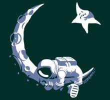 Moonstuck - Alternate Universe on Dark Green by Koobooki