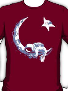 Moonstuck - Alternate Universe on Dark Green T-Shirt