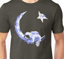 Moonstuck - Alternate Universe on Dark Green Unisex T-Shirt