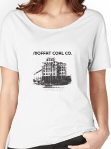 The Moffat Coal Breaker - Taylor PA Women's Relaxed Fit T-Shirt