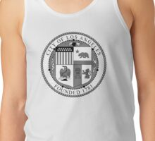 Seal of the City of Los Angeles (B&W) Tank Top