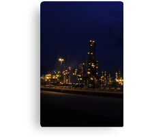 Anacortes Refinery Canvas Print