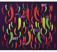 Hot pepperoni.  Photographic Print