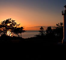 Sunset at Admiralty Head by Jim Adams