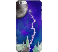 Touch the Moon iPhone Case/Skin