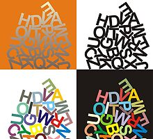 Alphabet - large letters by gepard