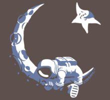 Moonstuck - Alternate Universe on Dark Grey T-Shirt