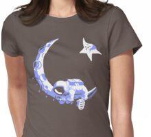 Moonstuck - Alternate Universe on Dark Grey Womens Fitted T-Shirt