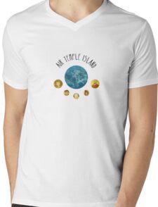 Air Temple Island Mens V-Neck T-Shirt