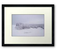 Winter in Golubino Framed Print