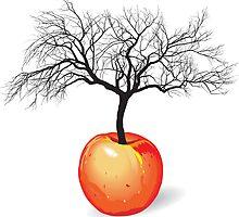 apple tree from fruit by gepard