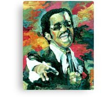 Sammy Davis Jr  Canvas Print