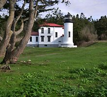 Admiraltry Head Lighthouse by Jim Adams