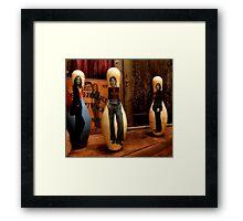 Bowling For Beatles Framed Print