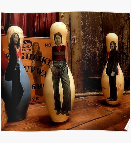 Bowling For Beatles Poster