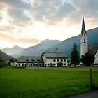 Dawn in Elbigenalp by steppeland