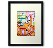 The Kitchen Framed Print