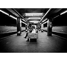 Endless Waiting Photographic Print