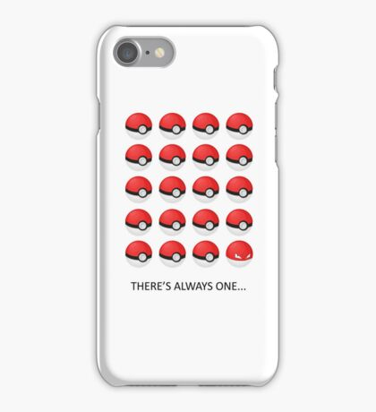 There's Always One... iPhone Case/Skin