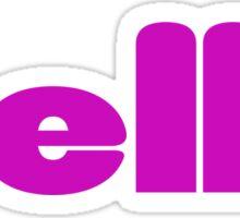 Bella T-Shirt - Baby Girl - Onesie Jumpsuit Sticker